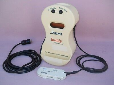 Belmont Buddy Fluid Warmer In-line Blood IV Infusion Warming Device 38C Complete