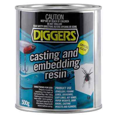 Diggers Casting & Embedding Resin Crystal Clear 500g