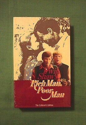 Irwin Shaw's Rich Man Poor Man The Collector's Edition Chapter V VHS Brand New