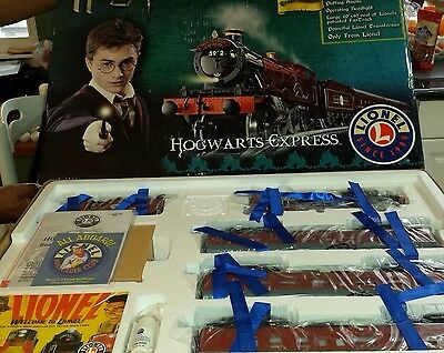 Lionel 7 11020 Harry Potter Hogwarts Express Train Set