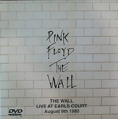 PINK FLOYD - THE WALL - LIVE AT EARL'S COURT - BRAND NEW SEALED 2 CD + DVD NTSC