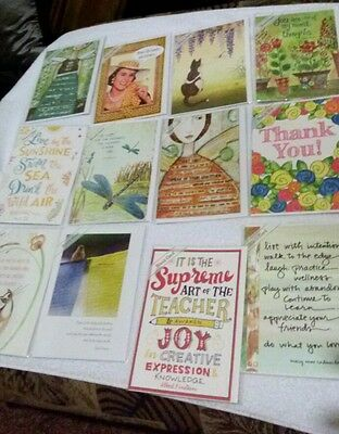 12 Trader Joes soy based ink greeting card lot NEW
