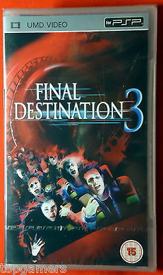 Final Destination 3 - engl Fassung -  Sony PSP UMD Movie - PlayStation Portable