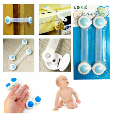Safety Child Lock Baby Cabinet Door Drawer Kid Fridge Cupboard Lock Safe Latches