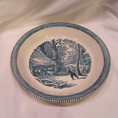 Currier & Ives Pie Plate (1)