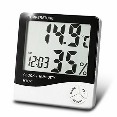 Digital LCD Indoor/ Outdoor Thermometer Hygrometer Temperature Humidity htc 2 UK