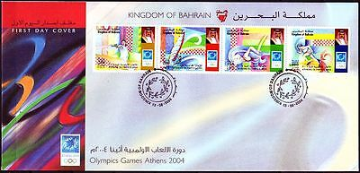 Bahrain 2004 FDC Mi.802/05 Olympische Spiele Olympic Games