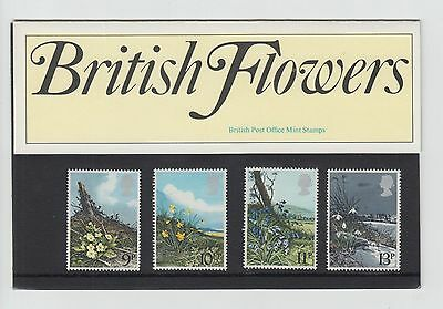 GB Presentation Pack 1979 Spring Wild Flowers  Stamps