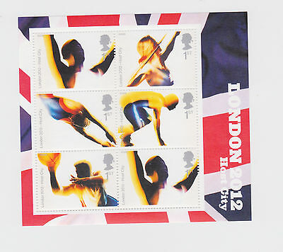 GB    London 2012 Miniature Sheet MS2554   as issued unmounted   mint