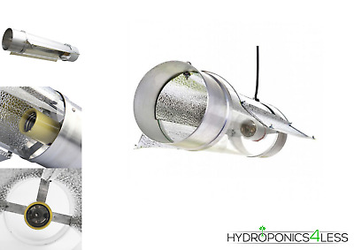 """Cool Tube Shade Grow Room Tent Hydroponic Lighting Reflector Air Cooled 5"""" 6"""" 8"""""""