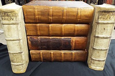 1504 Post Incunabula Bible- Amerbach Bible - 6 Large Folio Volumes