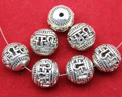 30 pcs wholesale: Very beautiful Tibet silver big interval beads  14x14 mm