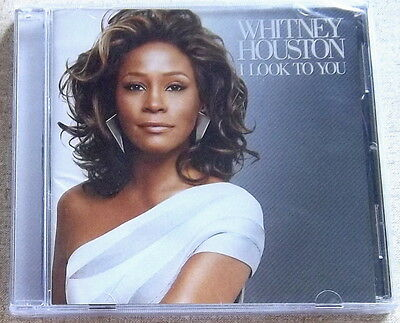 WHITNEY HOUSTON I Look To You SOUTH AFRICA Cat# CDAST534 *sealed*