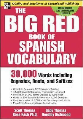 The Big Red Book of Spanish Vocabulary (Big Red Book Of...)
