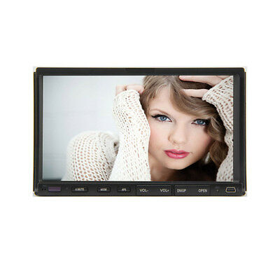 """In Dash Double 2Din 7"""" Car DVD CD Player Touch MP3 Radio Stereo SD HD Receiver"""