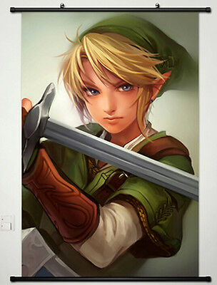 The Legend of Zelda Home Decor Anime Japanese Poster Wall Scroll New 005
