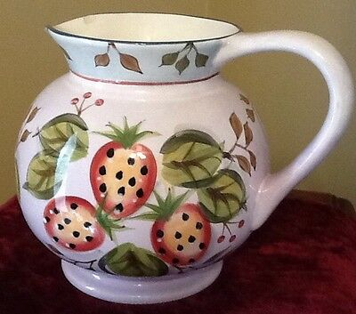 Heritage Mint BLACK FOREST FRUITS 3 Quart China Pitcher Discontinued 2001-2004