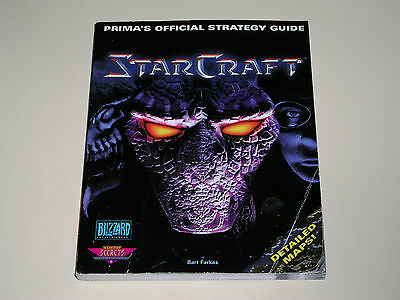 StarCraft - 246 page book - Prima's OFFICIAL STRATEGY GUIDE