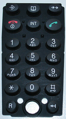 Keypad for Handset Telekom T-Sinus 45 S 45 S Keyboard rubber NEW