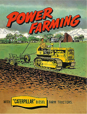 Caterpillar D2 Power Farming Book 1952
