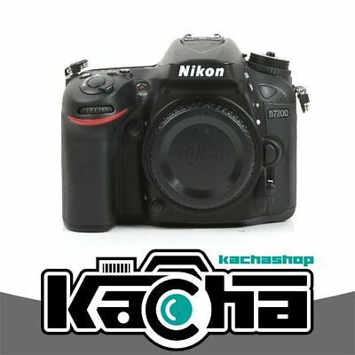 NEW Nikon D7200 Digital SLR Camera Body Only 24.2 MP Kit Box