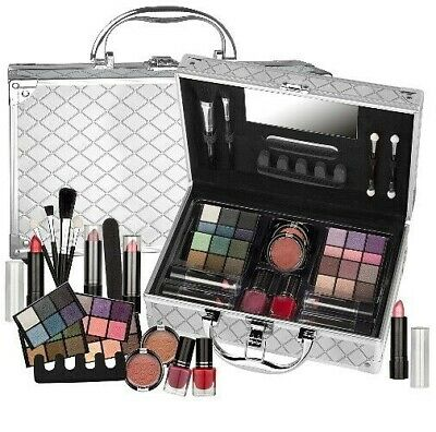 Valigetta Make Up 50 Pezzi Teenager - Set trucco cosmetici - Trousse pennelli