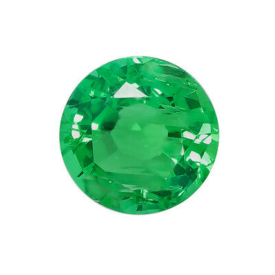 Lab Created Hydrothermal Colombian Emerald Round Loose stone AAA (2mm - 12mm)