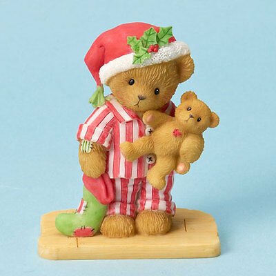 Cherished Teddies Russell What's That I Hear On the Rooftop Figurine FREE SHIP