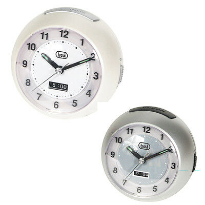 Trevi Travel Alarm clock with Snooze Function 2 Colours Available
