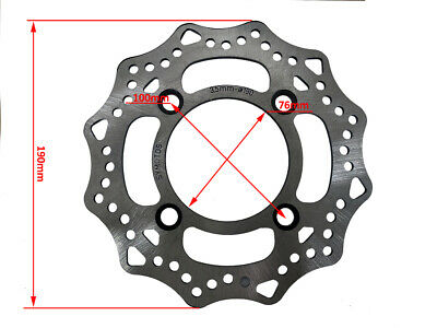 New Hd 190Mm Front Brake Disc Disk Rotor Caliper Pit Dirt Bike Atv Quad Buggy