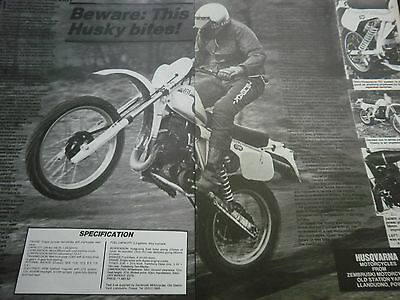 Husqvarna 240 Wr - 2 Page Original Motorcycle Report