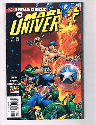 The Invaders In Marvel Universe Complete Limited Series # 1 2 3 Sub-Mariner J10
