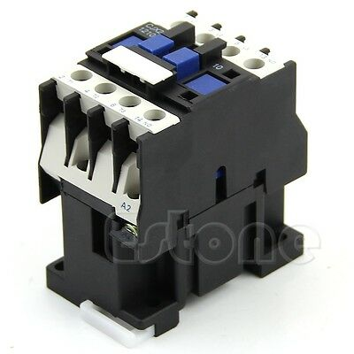3-Phase Pole AC Contactor Motor Starter Relay 18A Up To 14HP 110V Coil CJX2-1210