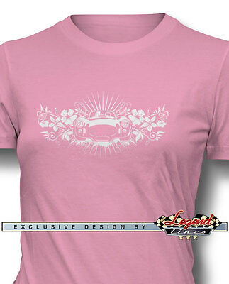 "1965 AC Shelby Cobra 427 SC ""Hawaiian"" T-Shirt for Women - Multiple Colors Sizes"