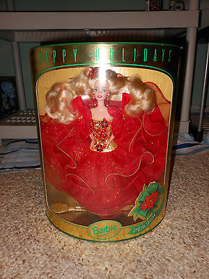 Happy Holidays Special Edition Barbie Doll by Mattel In Box 1993