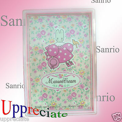 Authentic SANRIO Vintage Marron Cream Playing Card Poker Game (made in Japan)