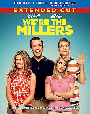 We're the Millers (Blu-ray Disc, 2013, 2-Disc Set) Jennifer Aniston, Sudeikis