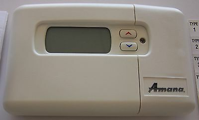 1F97-381 7 DAY PROGRAMMABLE DIGITAL THERMOSTAT P1213408F Amana Same Day Shipping
