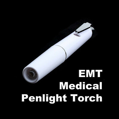 Doctor Nurse Medical Surgical Pen Light Flashlight Pocket Torch First Aid New