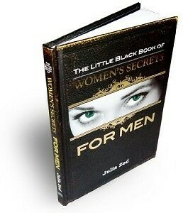 SEXY GIFT BOOK The Little Black Book of Women's Secrets FOR MEN