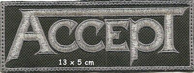 Accept -  Patch  Free Shipping