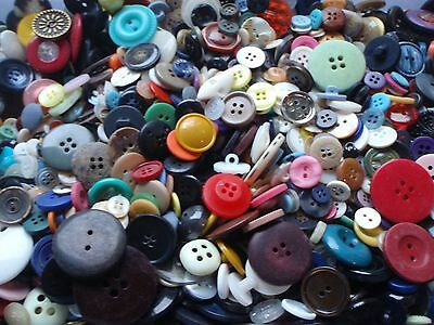 15mm and Larger Sewing Button Mix #1 Bulk Lots of 100, 200