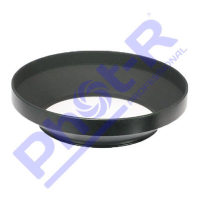 Phot-R 43mm PRO Screw-On Mount Wide-Angle Metal Lens Hood for Canon Nikon Sony