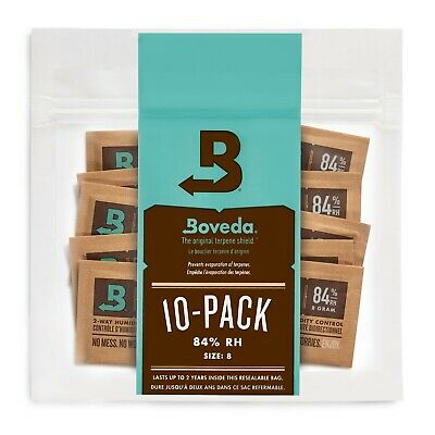 Boveda 84% RH 2-way Humidity Control, 8 gram - 10 Pack