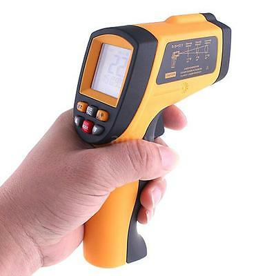 Non-contact Laser Infrared Thermometer Temperature Gun Pyrometer GM900 AF