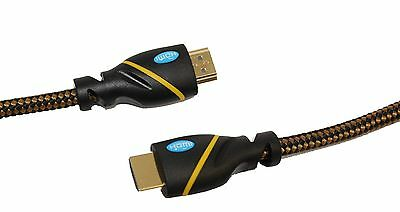 6ft Ultra Clarity Cables HDMI Cord - Standard High Speed - Computer to TV 4K UHD