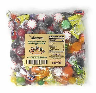 YANKEETRADER, Royal Mix Wrapped Hard Candy Assortment 2 lbs. ~ (FREE SHIPPING)
