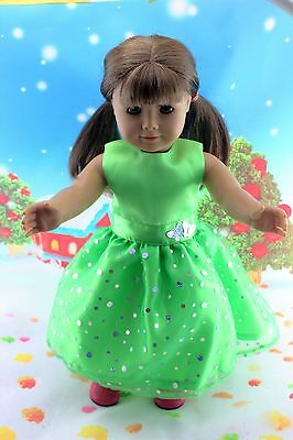 "New Doll Clothes fits 18"" American Girl Handmade Hot Summer Dress X41"