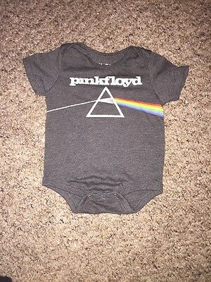 Pink Floyd Baby One Piece 3 Months The Dark Side Of The Moon Infant Band