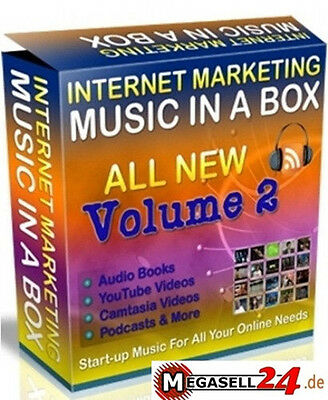 ★Legale Musik In A Box V2 252 Musikclips Audio Marketing Music Sound Mp3 Wow Mrr